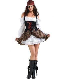 Buccaneer Babe Halloween Pirat Kostyme