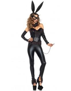 Bondage Bunny Kostyme Catwoman Drakt
