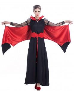 Dame Bratte Vampyr Kostyme