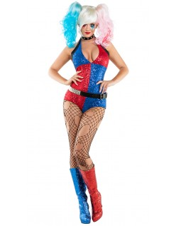 Sexy Klovne Harley Quinn Kostyme Dame