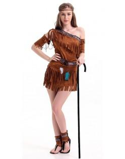 Pow Wow Halloween Indianer Kostyme