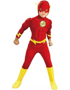 DC Comics Muskel Flash Kostyme for Barn