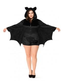 Halloween Vampyr Bat Kostyme Dame