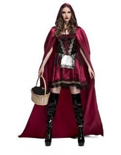 Fengslende Miss Lille Rødhette Kostyme