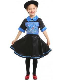 Kinesiske Zombie Kostyme Jente Halloween Kostymer Barn