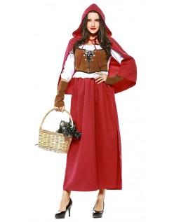 Skog Lille Rødhette Kostyme for Halloween