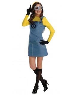 Minions Kostyme Dame Grusomme Meg Kostyme