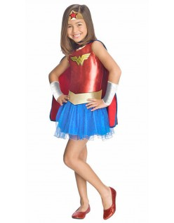 Jente Wonder Woman Kostyme Superhelt Kostymer Barn