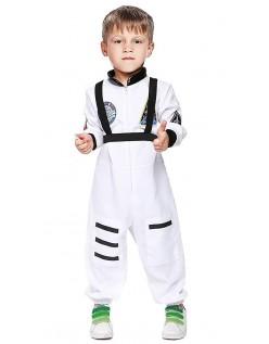 Lille Astronaut Kostyme Barnekostyme Hvit