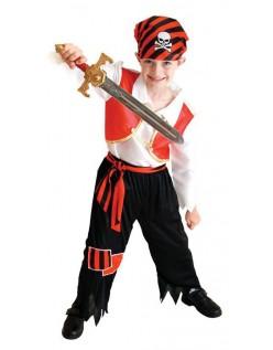 Søte Gutt Piratkostyme Halloween Kostymer Barn