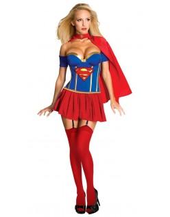 Superhelt Kostyme Korsett Superwoman Kostyme