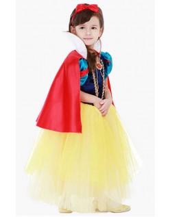 Snøhvit Kostyme Barn Halloween Prinsesse Kjole