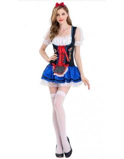 Sexy Flørtende Oktoberfest Kostyme Dame