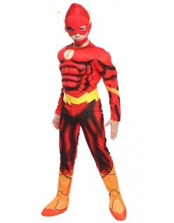 DC Comics Superhelt Flash Kostyme Barn