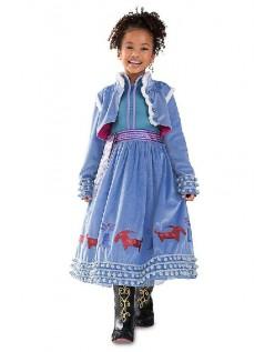 Ny Stil Elsa Anna Kostyme Prinsessekjole Barn