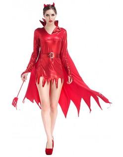 Halloween Djevel Kostyme Dame