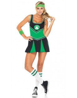 Sexy Boston Celtics Cheerleader Kostyme
