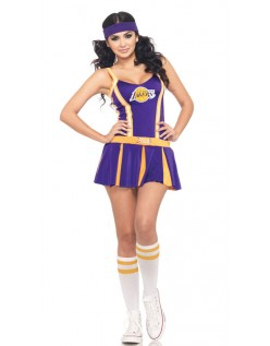 NBA LA Lakers Cheerleader Kostyme