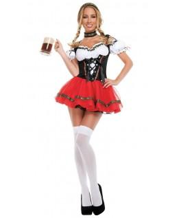 Sexy Frisky Tyroler Kostyme Oktoberfest Kostyme