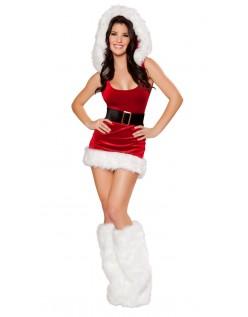 Sexy Nordpolen Babe Julenisse Kostyme