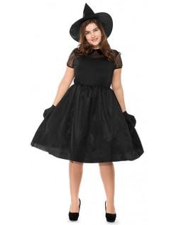 Forhekset Halloween Heks Kostyme Store Størrelser