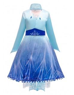Frozen 2 Prinsessekjoler Elsa Kostyme for Barn
