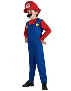 Super Mario Bros Mario Kostyme Barn