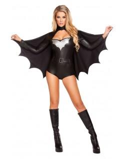 Sexy Natt Vigilante Batgirl Kostyme