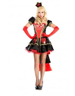 Sexy Hjerter Dronning Kostyme Alice i Wonderland