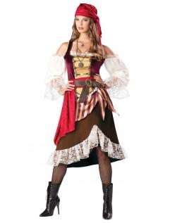 Deluxe Deckhand Darlin Pirat Kostyme