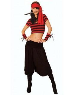 Sexy Elskerinne Pirat Kostyme Voksen