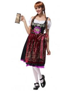 Søte Tyroler Kostyme Oktoberfest Kjole