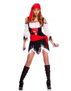 Sexy Pirat Kostyme Halloween Sjørøver Kostyme