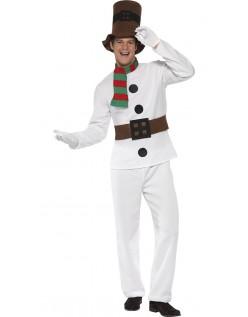 Kald Mr. Snømann Kostyme Voksen