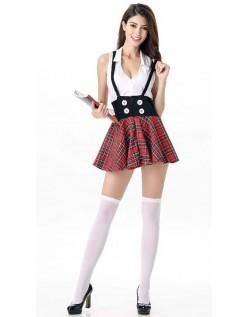 Driller Skolepike Kostyme