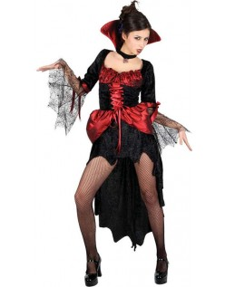 Halloween Heks Vampyr Kostyme