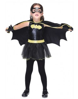 Barn Batgirl Kostyme For Halloween