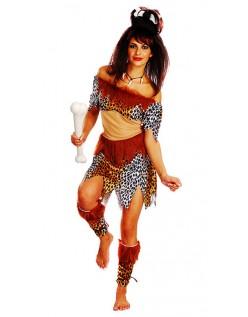 Voksen Huleboer Kostyme Indianer Kostymer Dame