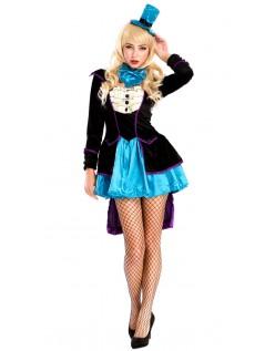 Rampete Mad Hatter Kostyme Dame