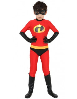 Incredibles 2 Gutter Incredible Kostyme Lycra Morphsuit Barn