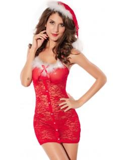 Valentinsdag Undertøy Sexy Julekostyme