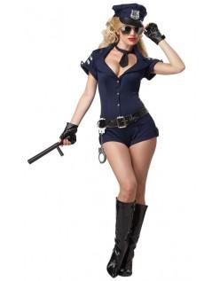 Arresterende Politibetjent Kostyme for Dame