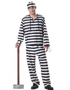 Halloween Fange Kostyme Mann