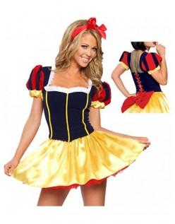 Halloween Snøhvit Kostyme Voksen