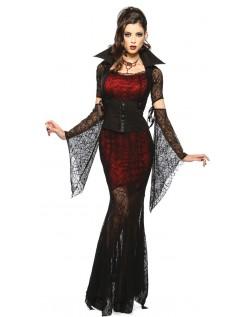 Midnatt Hunnrev Vampyr Kostyme