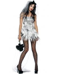 Sexy Zombie Brud Kostyme