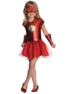 DC Comics Superhelt Jente Flash Kostyme