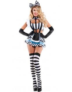 Alice i Eventyrland Spiser Meg Alice Kostyme