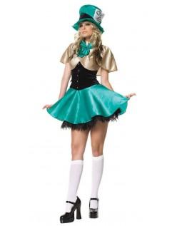 Teselskap Vertinne Mad Hatter Kostyme Dame