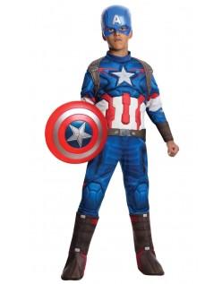 Avengers 2 Barn Muskel Captain America Kostyme